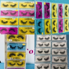 Wholesale Eye Lashes 3D 6D Mink Eye Lashes