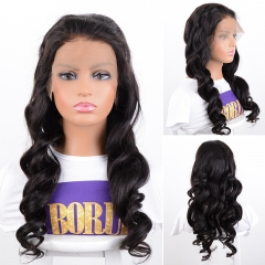 Brazilian Fake Scalp Lace Wig Loose Wave 13x6 Lace Front Wig Pre-Plucked Baby Hair Lace Front Human Hair Wigs