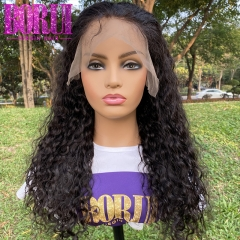 Brazilian Water Wave Wig 13x6 Lace Front Wigs Natural Hairline  with Baby hair 180% Density
