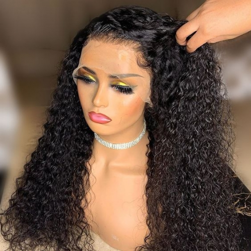20% OFF UNDETECTABLE LACE INVISIBLE KNOTS BEST VIRGIN HAIR 13X4 HD LACE FRONTAL WIG