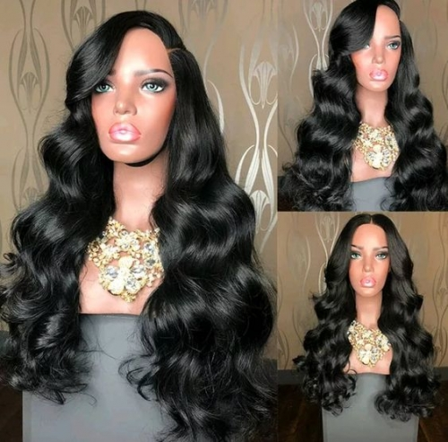 Brazilian Body Wave Wig 13x4 Transparent Lace Front Human Hair Wigs For Black Women 30inch